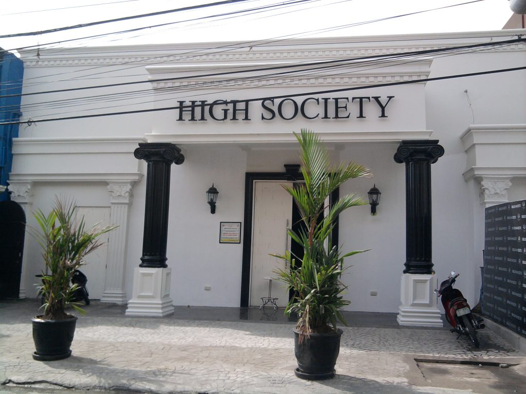 Exterior of High Society